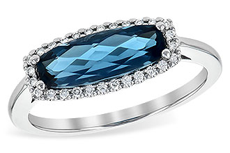 G190-05349: LDS RG 1.79 LONDON BLUE TOPAZ 1.90 TGW